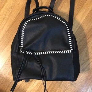 INC faux leather backpack new condition